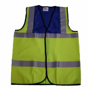 Royal 2 Tone Hi Visibility Waistcoat Medium