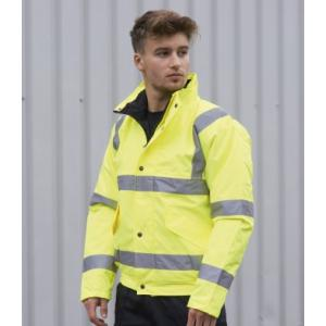 Portwest S463 High Visibility Bomber Jacket Yellow XXS